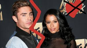 zac efron and sami miró have broken up zac deletes all traces of
