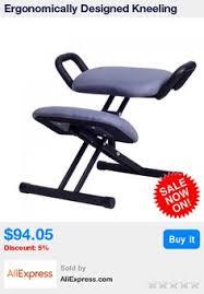 Jobri Kneeling Chair Kneeling Chair Jobri Grey Jazzy Chrome Deluxe Kneeling Chair
