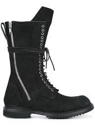 mens lace up biker boots rick owens jacket sizing rick owens biker boots black men shoes