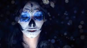 Sugar Skull Halloween Makeup Tutorial by Halloween Makeup Tutorials 2015 La Catrina Sugar Skull Youtube