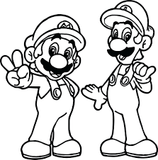 super coloring pages toad mario bros