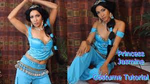 princess jasmine halloween disney u0027s princess jasmine custome tutorial dance birmabb youtube