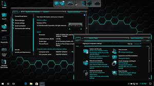 themes download for pc windows 10 hud aqua skinpack for win10 7 skin pack customize your digital world