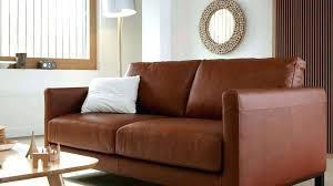 canapé cuir la redoute canape cuir fauve canape cuir fauve canapac brun et ambiance nature