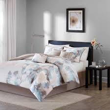 California King Comforters Sets Home Essence Jasmine 7 Piece Comforter Set Walmart Com