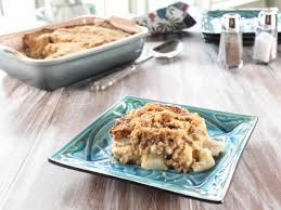gwen s fashioned potato beef casserole recipe trisha