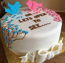 71 best gender cake images on pinterest gender reveal cakes