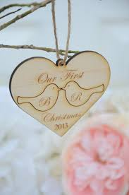 Christmas Ornaments With Initials Best 25 Our First Christmas Ornament Ideas On Pinterest First