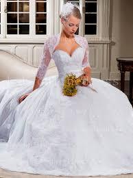 wedding dresses with bolero free shipping lace wedding dresses a line applique beaded sash