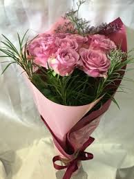 flowers gift gift wrapped roses