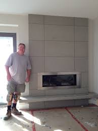 adding value to your home with a concrete fire place surround