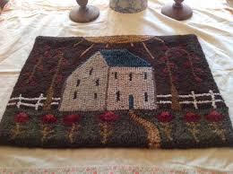Rug Wool Yarn 729 Best Primitive Rug Hooking Images On Pinterest Rug Hooking
