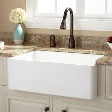 White Undermount Kitchen Sink Interior Alluring Farmhouse Kitchen Sink For Stunning Kitchen