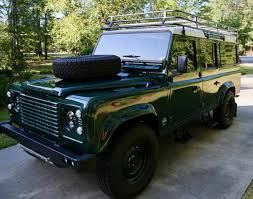 land rover defender 110 convertible 1989 land rover defender 110 for sale 2018897 hemmings motor news