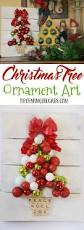 christmas tree ornament art seasons trees and crafts