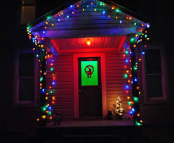 outdoor christmas lights colored christmas lights 224 coloring page