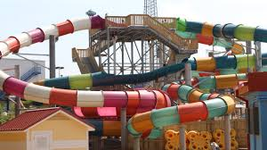 6 Flags Water Park Six Flags Hurricane Harbor Is Open My Family To Go