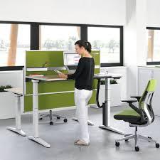 office furniture standing desk adjustable office desk adjustable height real wood home office furniture