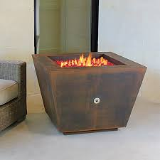 Steel Fire Pit - ten steel pyramid 33 in fire pit made in the usa
