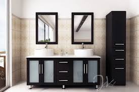 Narrow Bathroom Sink Vanity Appealing Small Bathroom Vanity With Vessel Sink 34 About Remodel