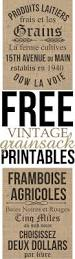 french inspired home decor free printables french inspired vintage grainsack prints grain