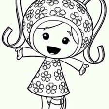 team umizoomi milli happy team umizoomi coloring