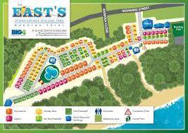Forgotten Shore Map East U0027s Ocean Shores Holiday Park Manning Point Nsw Caravan Big4