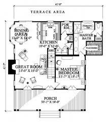 cottage floor plans william e poole designs cajun cottage