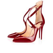 souliers femme marlenarock vernis christian louboutin women u0027s
