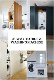 best way to clean top of kitchen cabinets 31 creative ways to hide a washing machine in your home