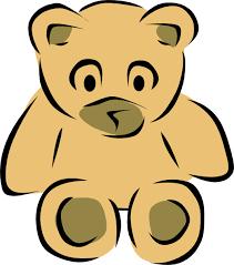 krome bear template clip art at clker com vector clip art online