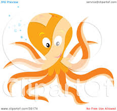 octopus clipart friendly pencil and in color octopus clipart