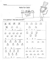 Oa Worksheets Subtracting With Pictures Subtract From 10 Or Less 5 Worksheets K Oa 2