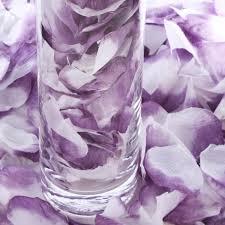Silk Rose Petals Lavender Silk Rose Petals Confetti Table Scatters Party