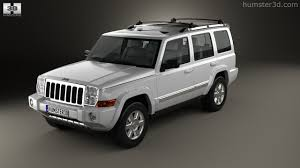 jeep commander 360 view of jeep commander xk limited 2006 3d model hum3d store