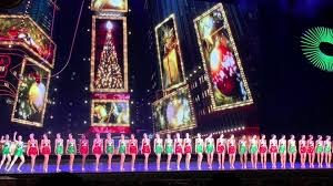 rockettes in the radio city spectacular in