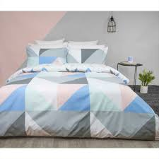 mode visby quilt cover set multicoloured king reg 17 99 new