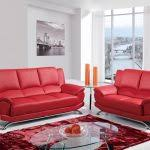 Living Room Ideas  Cheap Modern Living Room Furniture Red Leather - Cheap leather sofa sets living room