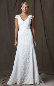 charming and elegant white lace v neck wedding dress wedding tips