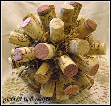 pickled tink crafts wine cork christmas ball