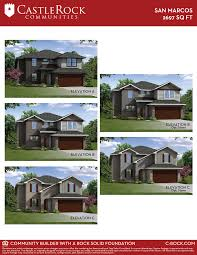 san marcos silver home plan by castlerock communities in blanco vista