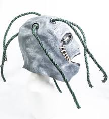 taylor style latex mask slipknot fancy dress with dreadlocks
