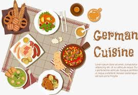 la cuisine allemande de la cuisine allemande gourmet restaurant png et vecteur pour