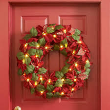 stunning wreaths basic to pre lit indoors out wreaths