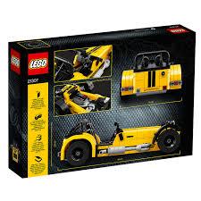lego technic car buy lego ideas 21307 caterham seven 620r sports car john lewis