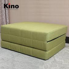 matelas de canapé facile à transporter 3 mousse pliage matelas multifonction épais en