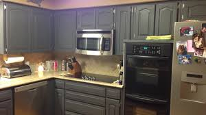 Respraying Kitchen Cabinets Marvelous Painting Kitchen Cabinets With Chalk Paint Youtube
