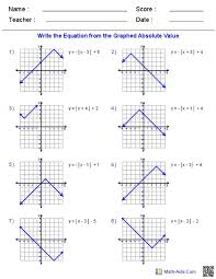 algebra 1 graphing worksheets free worksheets library download