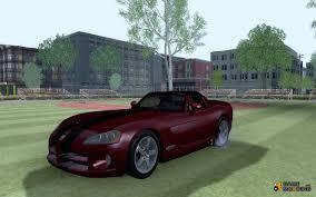 Dodge Viper Custom - viper srt 10 custom for gta san andreas
