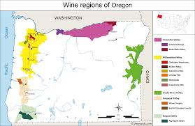 Bend Oregon Map Oregon Wineries Map Oregon Map